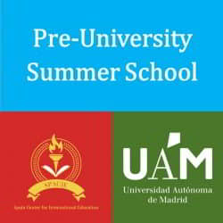 Pre-University Summer School Universidad Autónoma Madrid