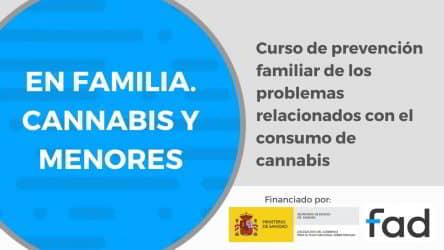 Curso online: ¿Te preocupa el consumo de cannabis de tu hija o hijo?